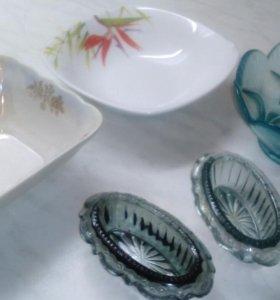 Посуда для салата, солонки, пиалки