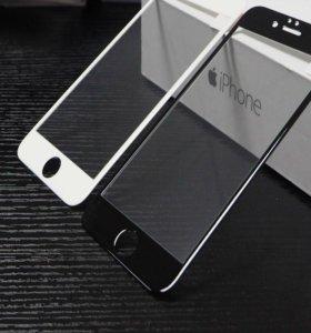 Защитное 3D стекло на iPhone 6,6s