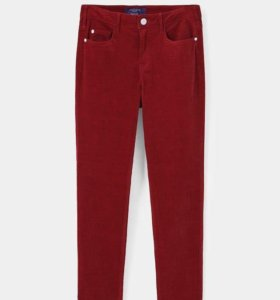Облегающие вельветовые брюки Mango