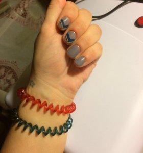 Покрытие ногтей гель-лаком, укрепление гелем
