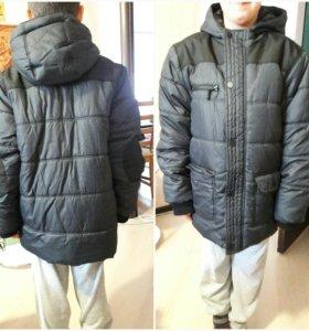 Зимняя куртка р.152см