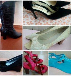 Туфли , сапоги 38 разм
