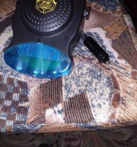 Обогреватель и вентилятор (2в1)для машины