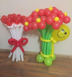 Композиции из воздушных шаров