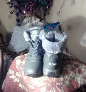 Ботинки для мальчика 37-38