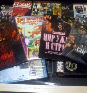 Фильмы на DVD дисках,разные жанры.