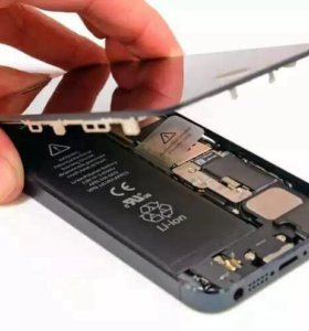 Замена аккумуляторной батареи на iPhone 5