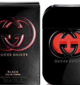 Туалетная вода Guilty Black Pour Femme 75 ml