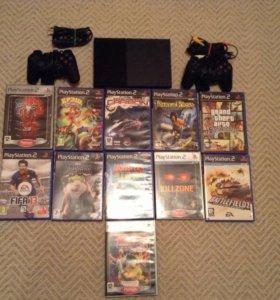 Продам Sony PlayStation 2 с играми