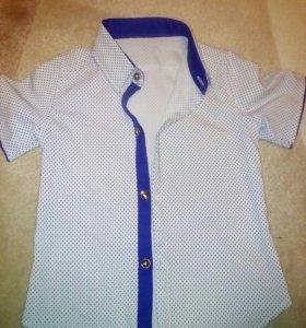 Рубашка для мальчика 6-7 лет