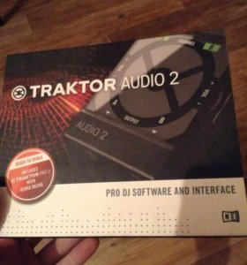 Внешняя звуковая карта Traktor audio 2