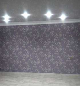 Натяжной потолок, белый глянцевый