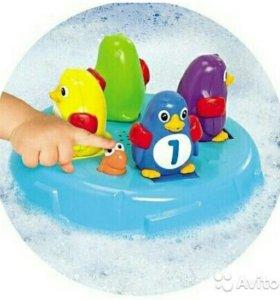 Музыкальные пингвины для ванны