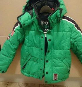 Куртка зимняя, для мальчика