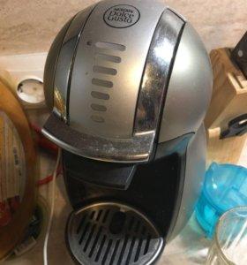 Кофемашина нескафе дольче густо