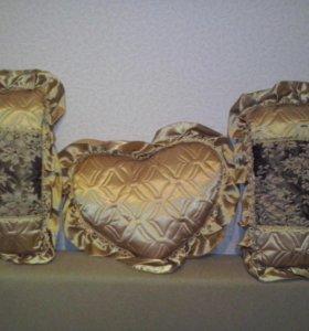 Новый набор декоративных подушек