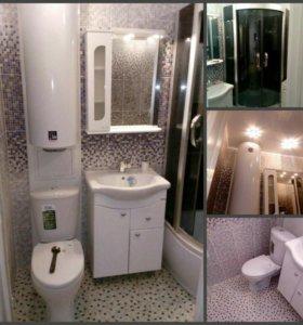 """Ремонт ванных комнат и санузлов под """"ключ"""""""