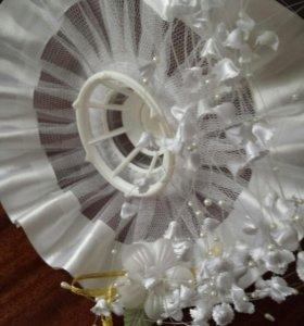 Для букета невесты + украшение в прическу