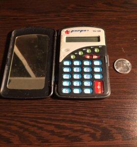 Калькулятор с зеркалом