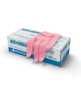Перчатки нитриловые р-ры XS, S, М 50 пар