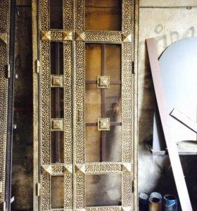 Двери Кованные и гладкие металлические !