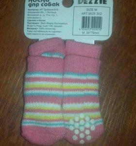 Новые носки для собак мелкой породы.