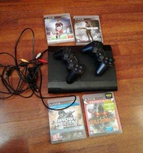 Продам PS3 super slim 500g