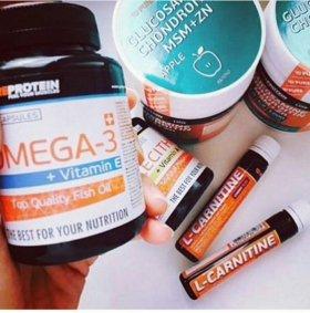 OMEGA-3 + Vitamin E