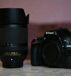 Nikon D5200 18-140mm f3.5-5.6