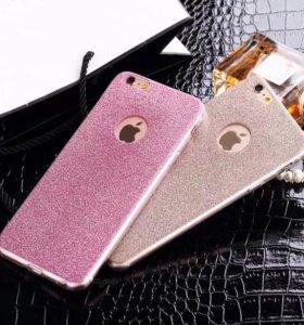 Сияющие мерцающие чехлы iPhone