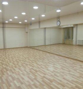 Зал для занятий фитнес,танцы ,йога и тд