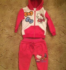 Костюм детский Hello Kitty, 3-4 года