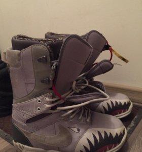 Ботинки для сноуборда Nike zoom DK qs