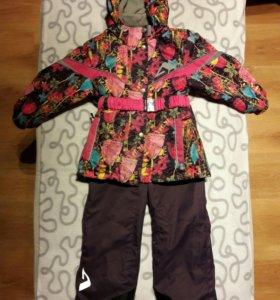 Комплект демисезон костюм на девочку весна осень