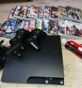 Sony Playstation 3 + Игры + дополнительные устройс