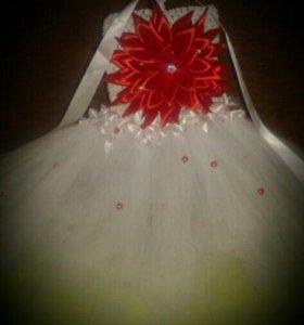 Нарядное платье из фатина