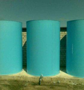 Емкости баки бочки резервуары бассейны тарра