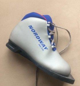 Лыжные ботинки 32 размер