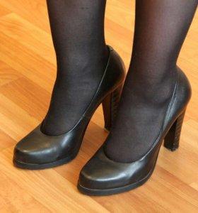 Туфли кожаные, 37р.
