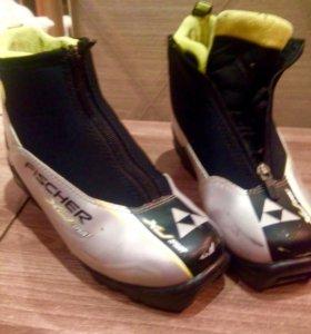 Лыжные ботинки 35 р
