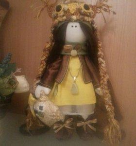 Игрушка-кукла.Ручная работа