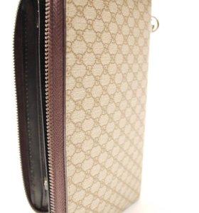 Клатч Gucci, унисекс, классическая расцветка, PVC