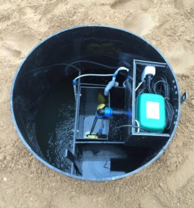 Автономная канализация на 5 человек