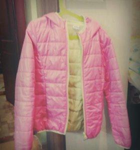 Куртка на теплую весну для девочки