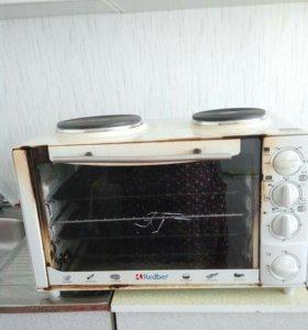 Элекртическая плита, духовка.