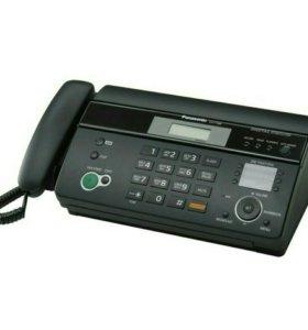 Факс и телефон Panasonic KX-FT988RU