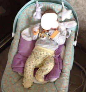 Кресло-качели DINKY happy baby