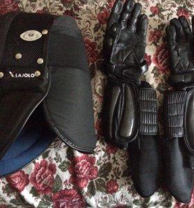шлем и защита рук для ножевого боя