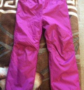 Болоневые брюки на флисе