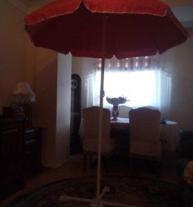 Пляжный зонтик VISTA - высота 2.10 диа. 1.60